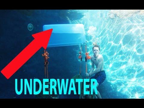 DIY underwater AIR pocket!