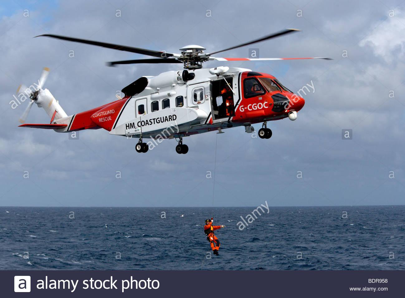 coast guard air sea rescue
