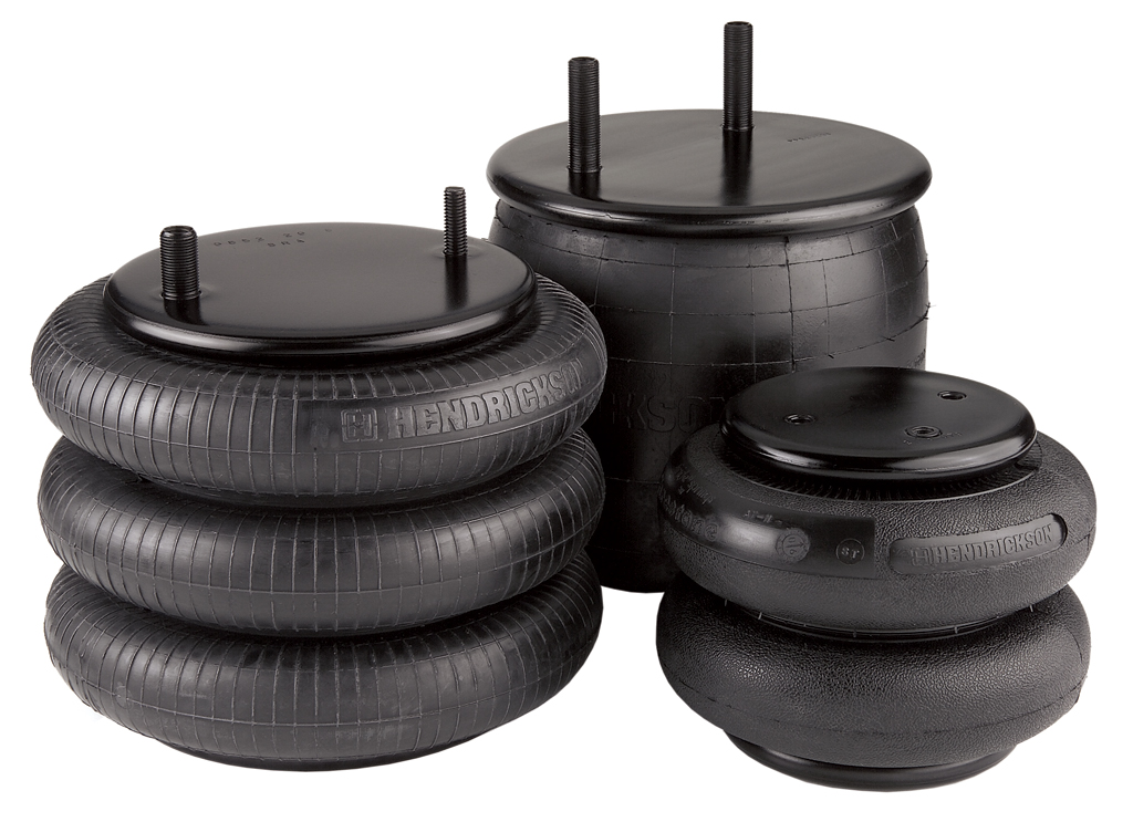 Hendrickson air springs are designed and tuned specifically for approved  applications. Choosing an air spring other than the original can alter the