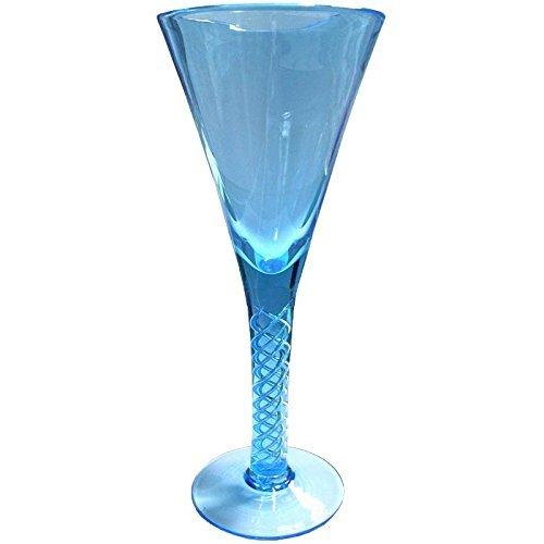 Jane Austen Georgian Glass Air twist Stem Goblet