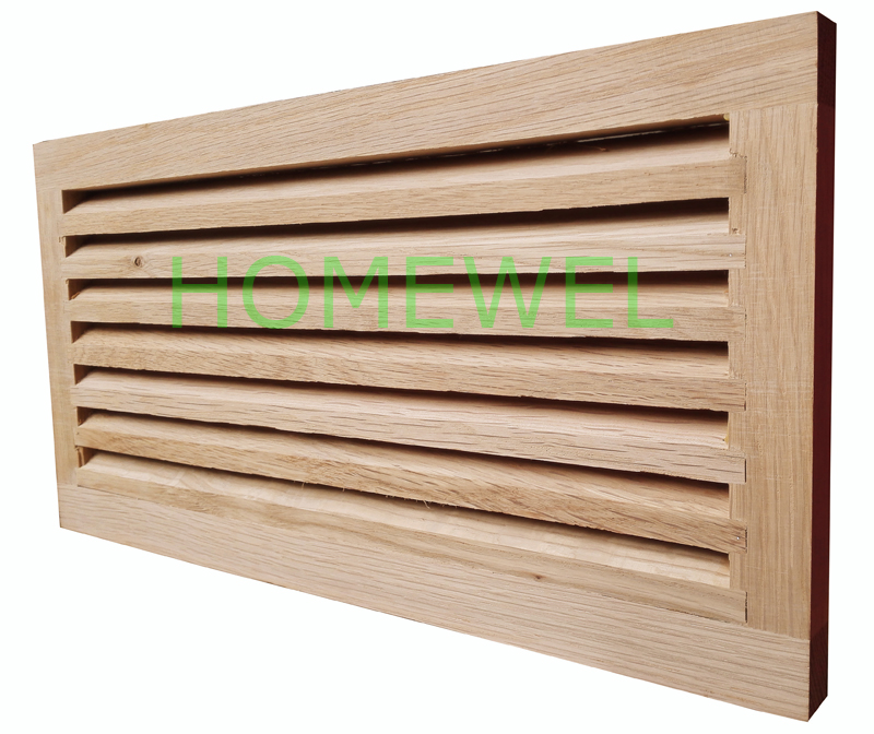 wood cold air return vents