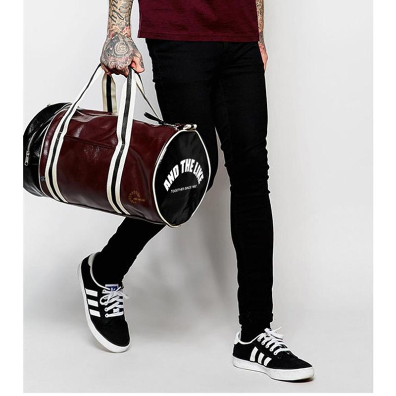 AND THE LIKE Gym Bag Red