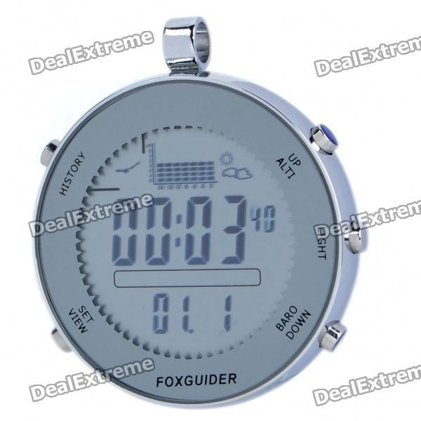 Waterproof Digital Fishing Barometer w/ Clock/Thermometer/Weather Forecast/ Bathometer ― DealExtreme