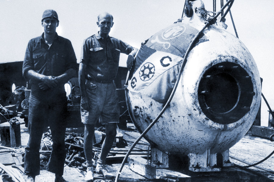 The Bathysphere: William Beebe Descends