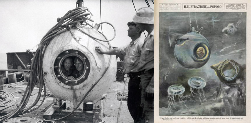 bathysphere illustration photograph