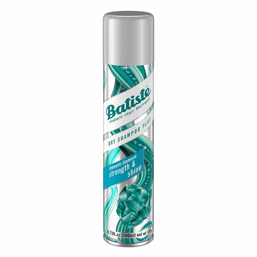 Shampoo seco plus diamante fuerza brillo Batiste aerosol x 200 ml