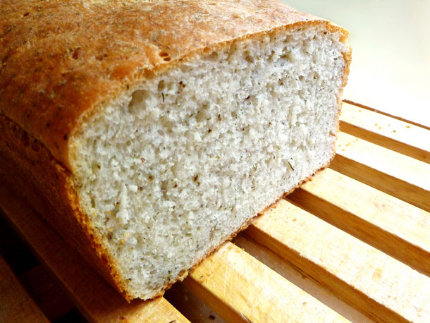 Bread Baking: Herbed Batter Bread Recipe
