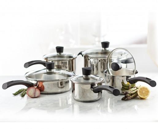 Batterie de cuisine Remy Olivier Matera, 10 articles