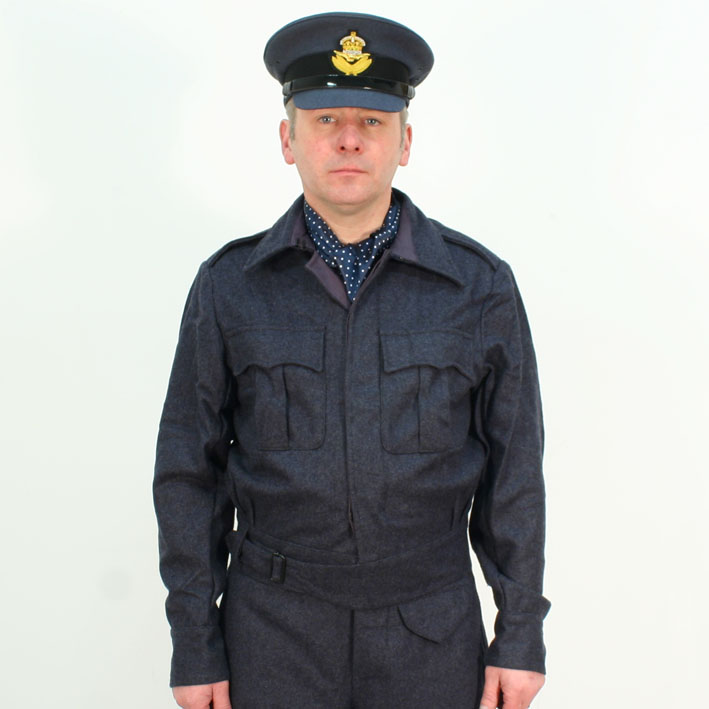 (Originally called Suit Blue grey Aircrews the name was changed to  battledress in 1943)