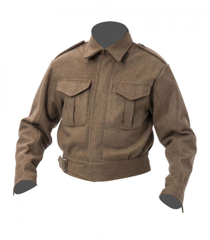 WW2 British Army 37 Pattern Battle Dress Blouse - Tunic Only