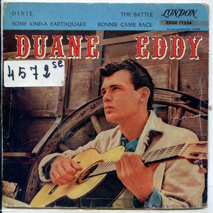 DUANE EDDY / DIXIE / THE BATTLE / SOME KINDA EARTHQUAKE + 1 (EP 1961)