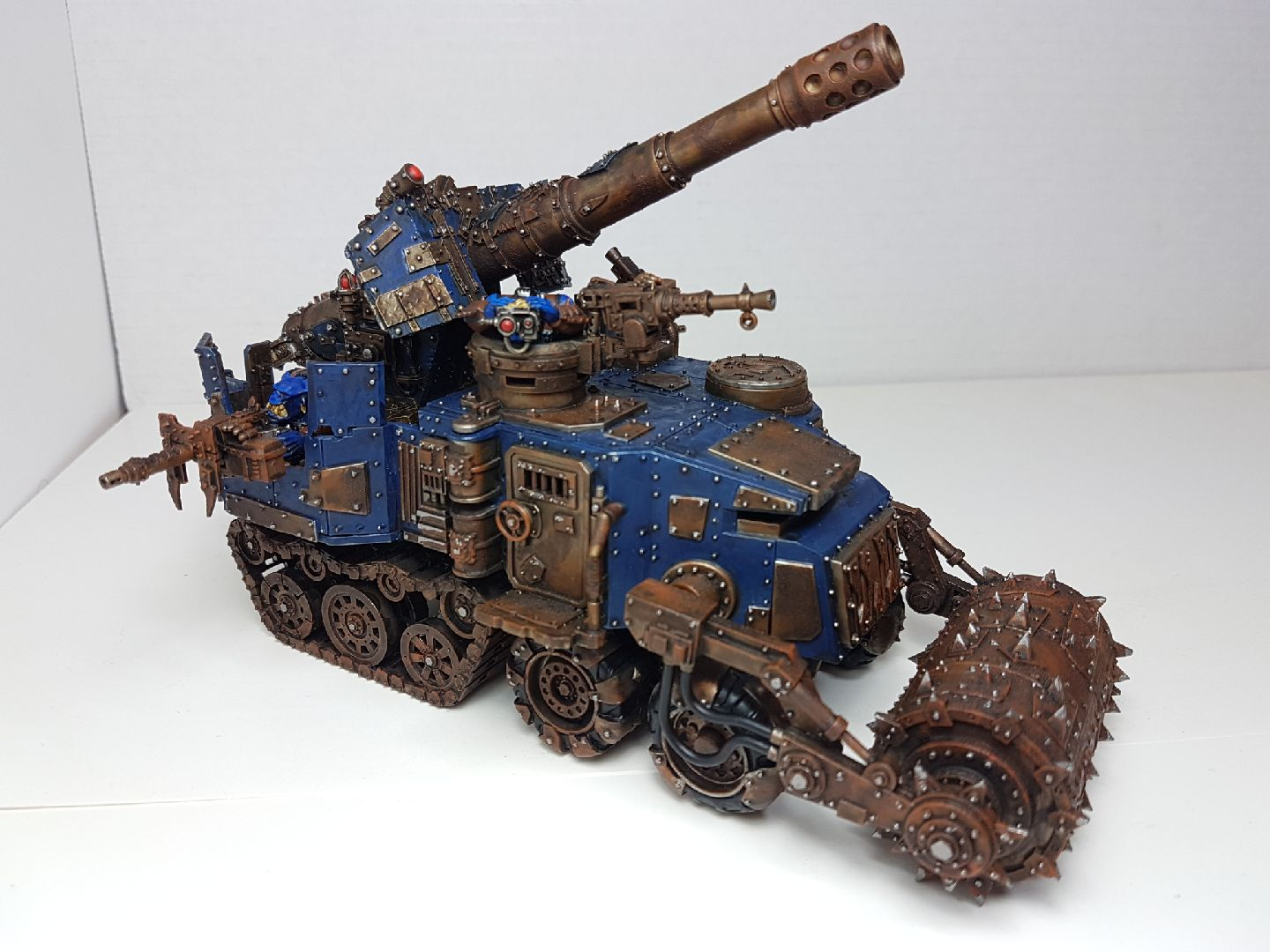 Battlewagon with Supa-Kannon