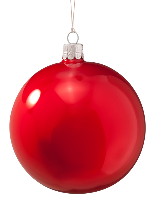 Glass Bauble Opal red, 10 cm