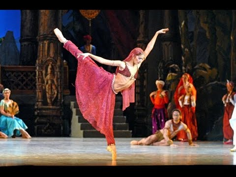 LA BAYADERE ballet (the best parts) L. Minkus, Aurelie Dupont