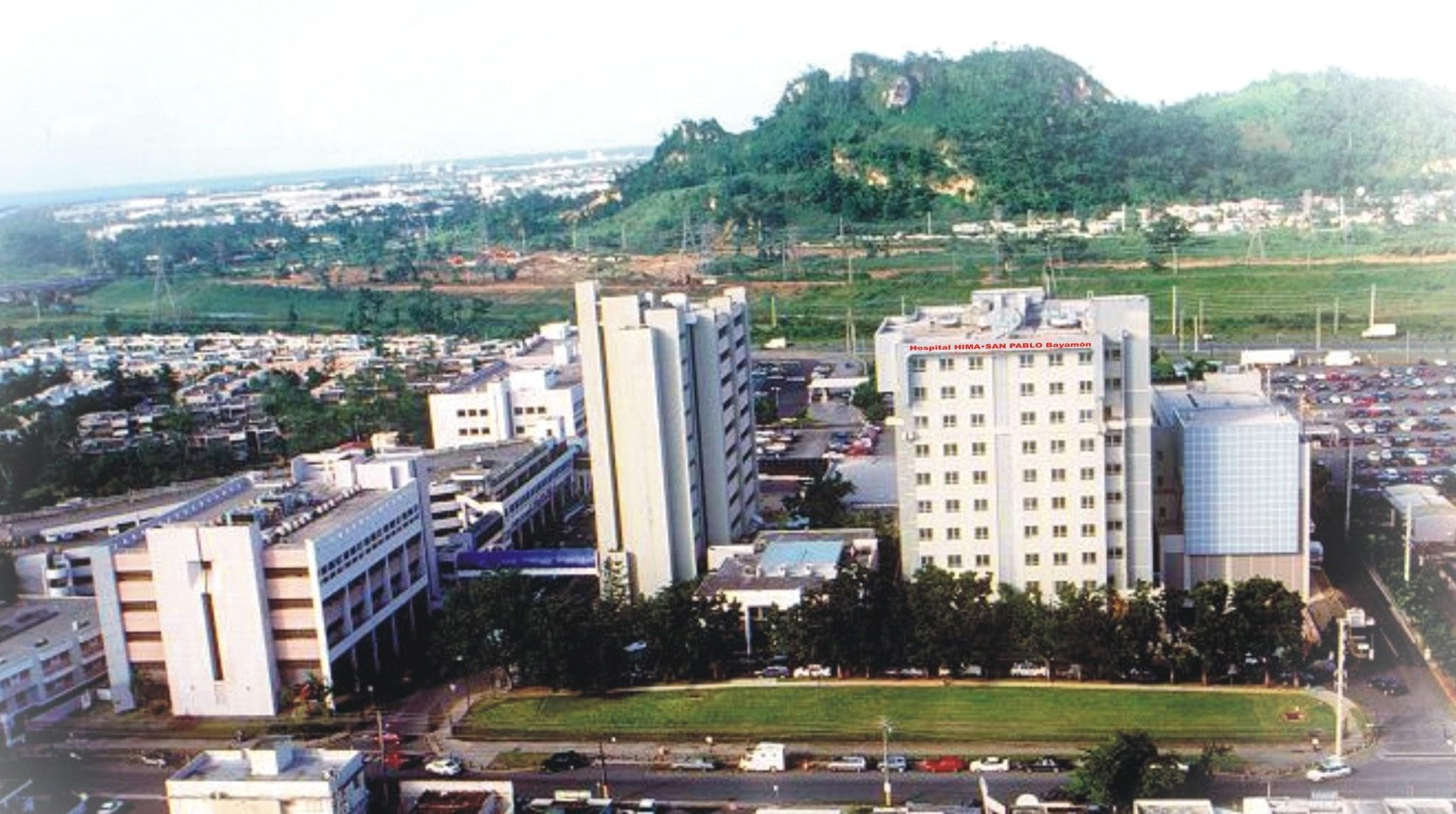 El Hospital HIMA•San Pablo Bayamón abrió sus puertas en 1976 y ha sido  acreditado por el (JCAHO). HIMA•San Pablo Bayamón es el segundo hospital  privado más