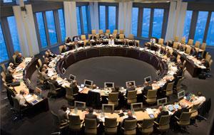 El BCE es la institución de la UE que constituye el núcleo del Eurosistema  y del Mecanismo Único de Supervisión. Obtenga más información sobre nuestra