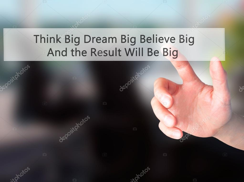 be big on