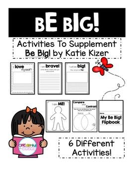 Activities For Be Big! By Katie Kizer   TPT Author Collaborative Board    Pinterest