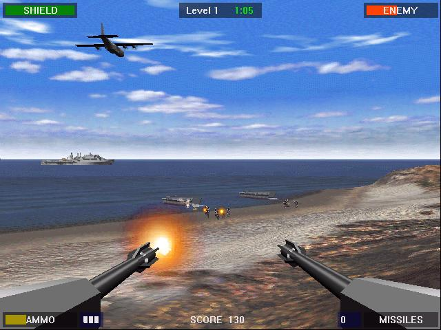 Tags: Free Download Beach Head 2000 PC Game Review