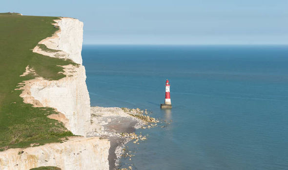 The distinctive cliffs at Beachy Head (Image: GETTY STOCK)