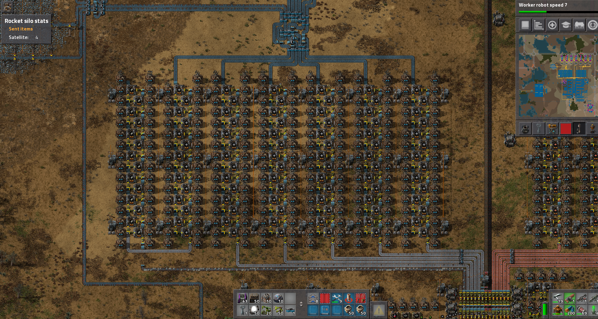 QuestionOpinions on beaconed smelting layout