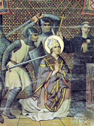 Similarities Between St. Thomas à Becket & St. Thomas More