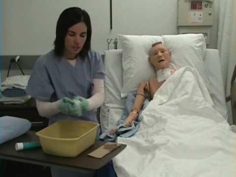 Giving a Patient a Bed Bath