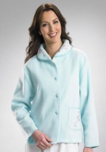 Mint Slenderella Fleecy Bed Jacket