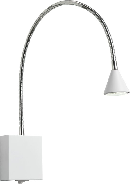 Lucide BUDDY - Bedlamp - LED - 1x3W 4000K - Wit
