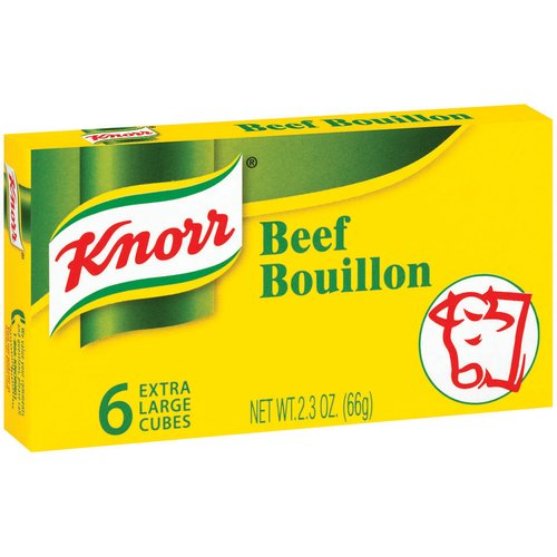 Knorr Beef Bouillon Cubes, Extra Large, 6 count