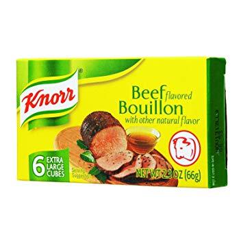 Knorr Beef Bouillon Cubes 2.3 Oz