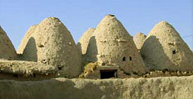 Tholos buildings in Harran, Turkey.