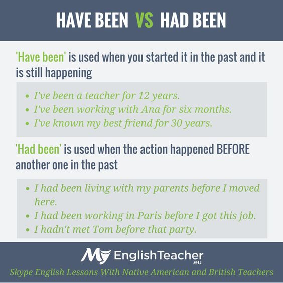have been or had been grammar. ""