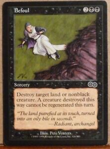 Image is loading BEFOUL-Urza-039-s-Saga-Magic-the-Gathering-