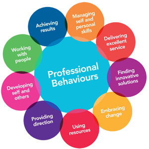 Download Professional Behaviours booklet