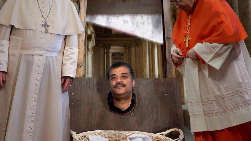 Silencing Dissent: The Catholic Church Has Beheaded Neil deGrasse Tyson For  His Heretical Claim That The Earth Revolves Around The Sun