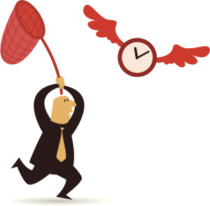 behind time