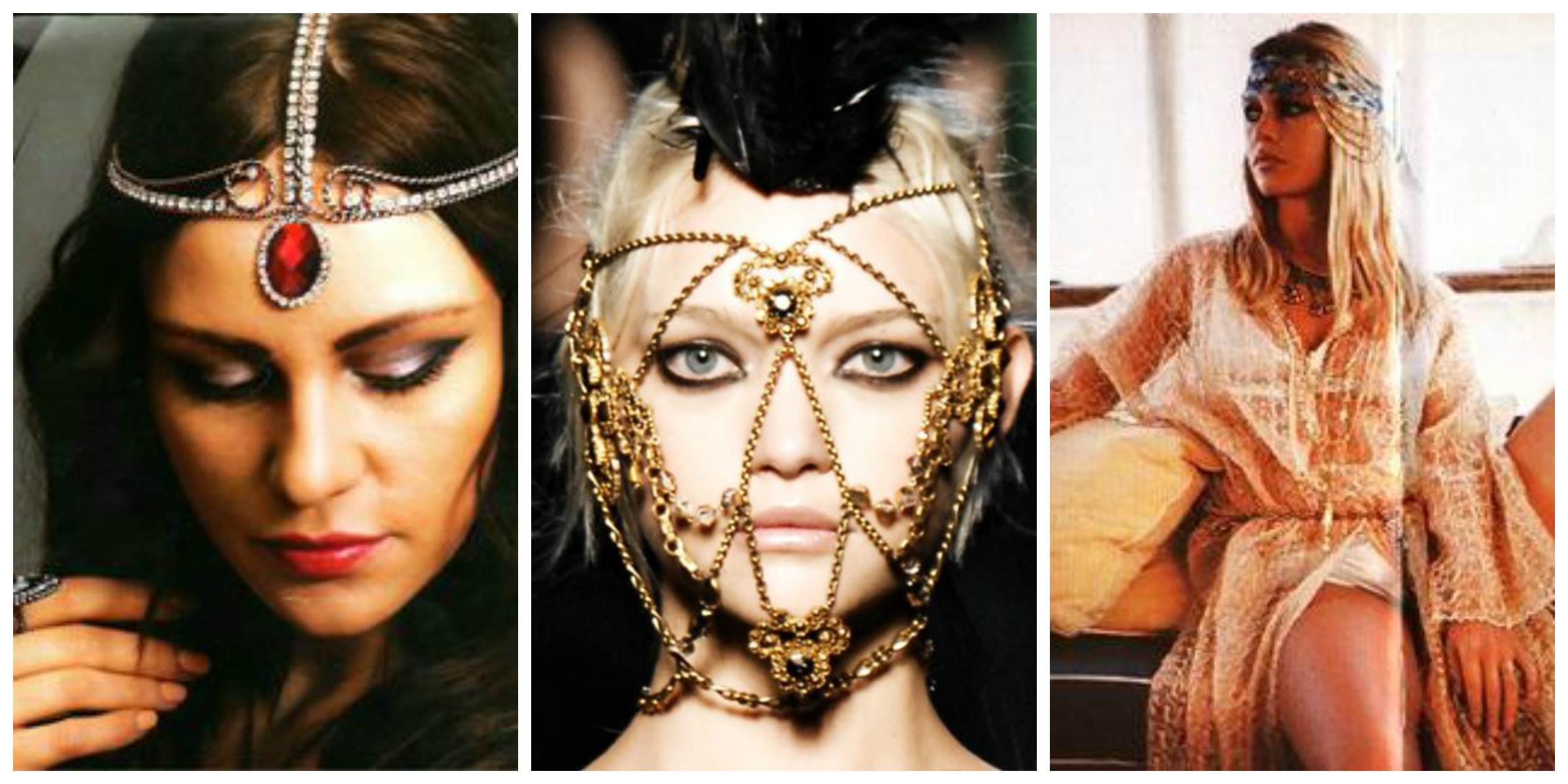 Jewellery Headpieces - Bejewelled Hair Trend (9)