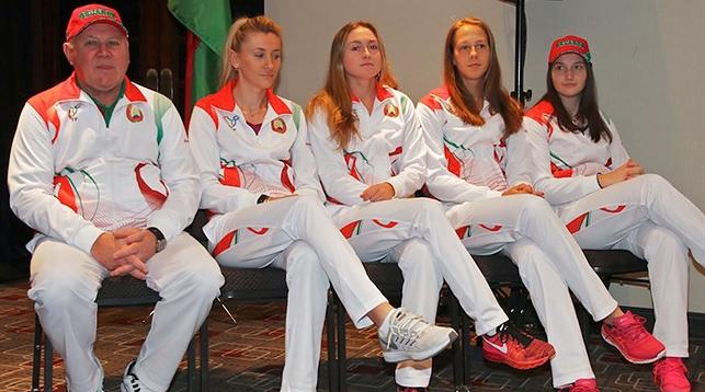 The Belarusian team