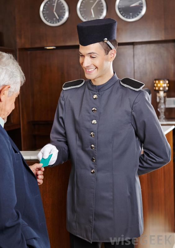 A bell captain can also perform concierge work.