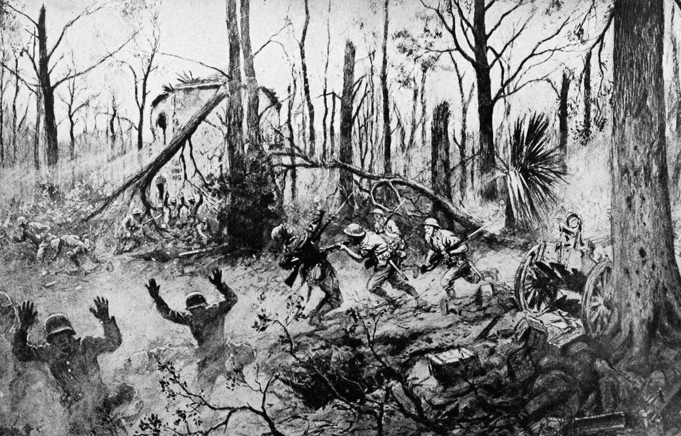"""Every U.S. marine knows the famous quotes from their comrades fighting in  1918 in the Battle of Belleau Wood: """"Retreat, hell we just got here!"""" by  Capt."""