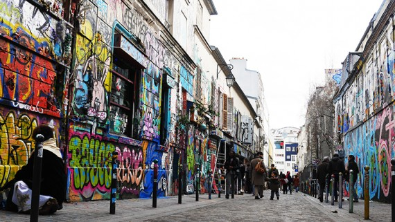 Además de los conocidos monumentos y barrios, en París hay un montón de  zonas interesantes que visitar. Belleville es uno de ellos.