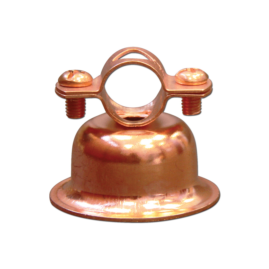Cambridge Resources 1-in to 1-in dia Copper Plated Steel Bell Hanger