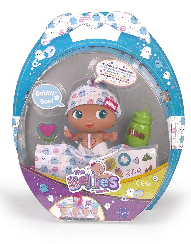 Amazon.es: The Bellies - Bobby-Boo, muñeco interactivo para niños y niñas  de 3 a 8 años (Famosa 700014566): Juguetes y juegos