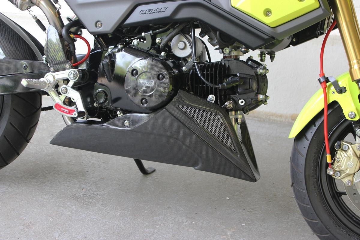 Belly Pan, Carbon, MSX125 Grom 6
