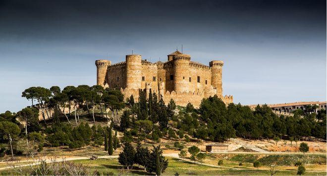 El imponente Castillo de Belmonte.