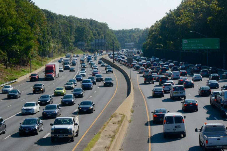 Be prepared for some major traffic headaches if you need to take the  Capital Beltway in Montgomery County on Saturday. There will be triple lane.