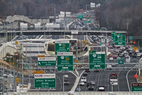 The Beltway looks as wide as the Mississippi River in Tysons Corner, but  just to the north, where the express lanes end, the highway is too narrow  for the