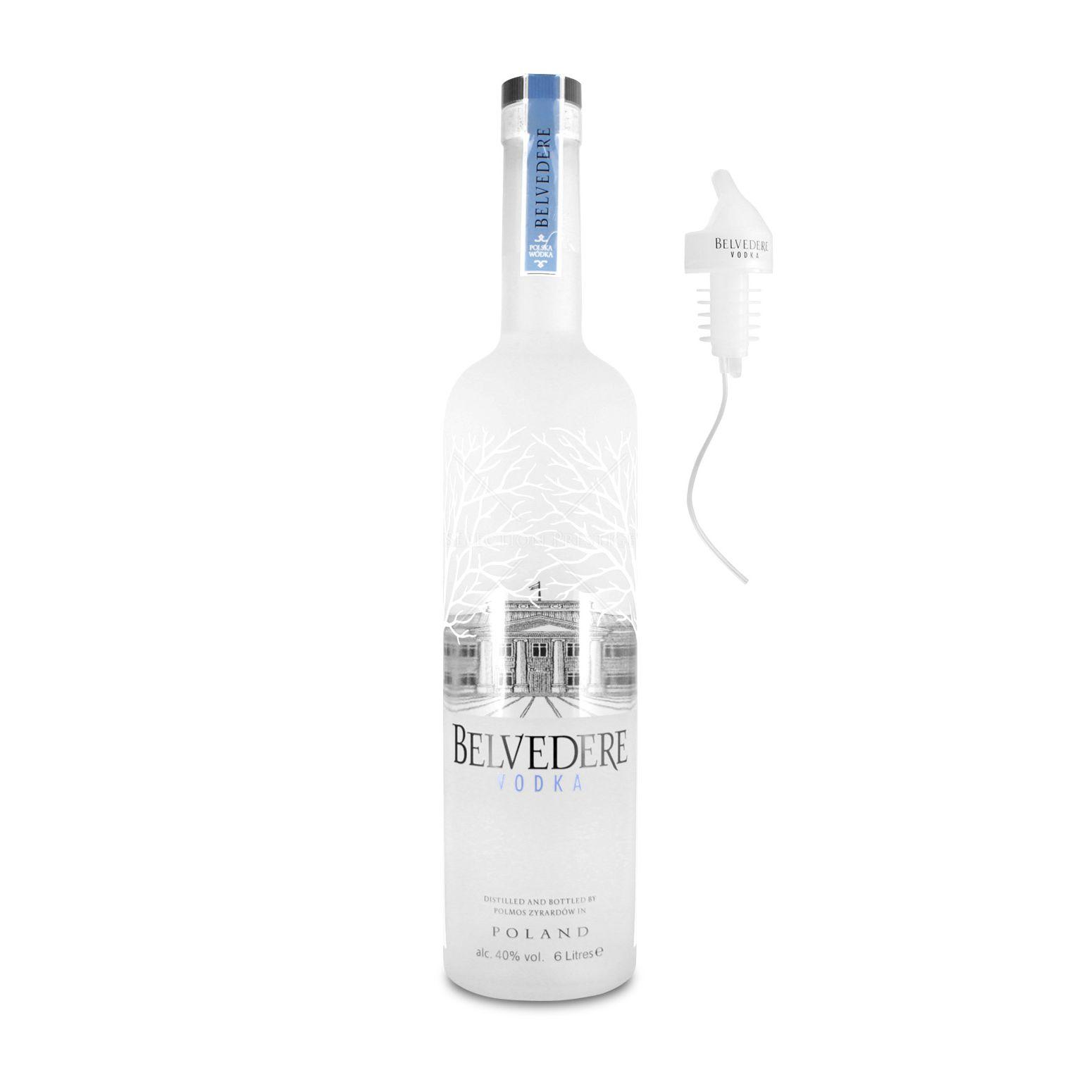 Belvedere Vodka 6,0L mit Licht (40% Vol.