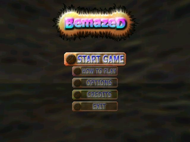 BemazeD Windows The game's main menu. When all lives are lost